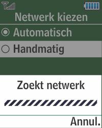 Samsung E1270 - Buitenland - Bellen, sms en internet - Stap 6