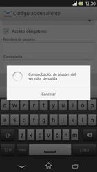 Sony Xperia Z - E-mail - Configurar correo electrónico - Paso 16