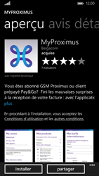 Nokia Lumia 830 - Applications - MyProximus - Étape 8