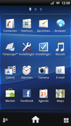Sony Ericsson Xperia Ray - Voicemail - handmatig instellen - Stap 4