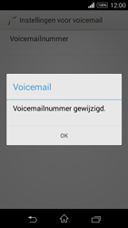 Sony D2203 Xperia E3 - Voicemail - Handmatig instellen - Stap 9