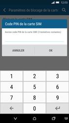 HTC One M9 - Sécuriser votre mobile - Personnaliser le code PIN de votre carte SIM - Étape 7