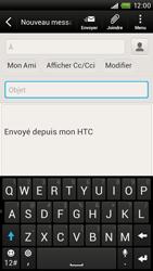 HTC S728e One X Plus - E-mail - envoyer un e-mail - Étape 6