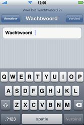 Apple iPhone 4 - Wifi - handmatig instellen - Stap 6