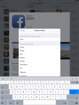Apple iPad Pro 12.9 (1st gen) - iOS 9 - Applications - Télécharger des applications - Étape 18