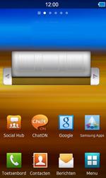 Samsung S8600 Wave 3 - E-mail - e-mail instellen: IMAP (aanbevolen) - Stap 1