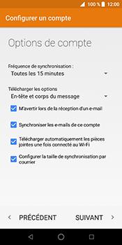 ZTE Blade V9 - E-mail - Configuration manuelle (yahoo) - Étape 13