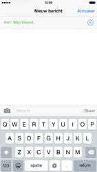 Apple iPhone 6 iOS 8 - MMS - hoe te versturen - Stap 6