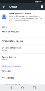 LG G6 - Internet - Configurar Internet - Paso 23
