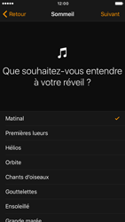 Apple iPhone 6s iOS 10 - iOS features - Coucher - Étape 9