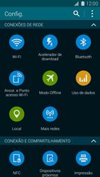 Samsung G900F Galaxy S5 - Rede móvel - Como ativar e desativar uma rede de dados - Etapa 4