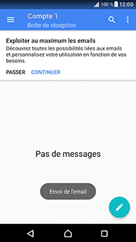 Sony Xperia XA1 Ultra - E-mails - Envoyer un e-mail - Étape 17