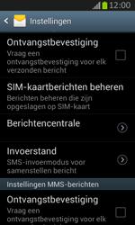 Samsung S7710 Galaxy Xcover 2 - SMS - Handmatig instellen - Stap 6