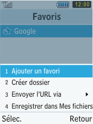 Samsung C3350 Xcover 2 - Internet - Navigation sur Internet - Étape 11