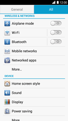 Huawei Ascend G6 - Network - Manually select a network - Step 4