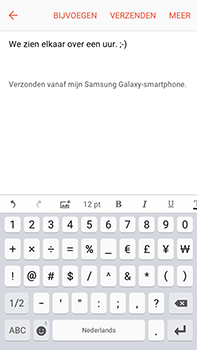 Samsung Galaxy J7 (2016) (J710) - E-mail - Bericht met attachment versturen - Stap 11