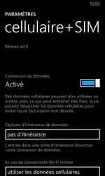 Nokia Lumia 630 - Internet - Désactiver du roaming de données - Étape 7