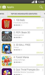 LG F70 - Applications - Télécharger une application - Étape 11