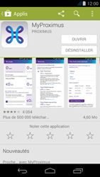 Acer Liquid Jade - Applications - MyProximus - Étape 10