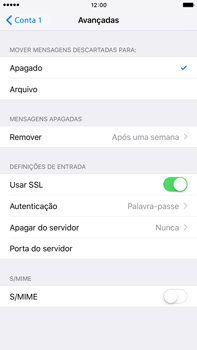 Apple iPhone 6s Plus - Email - Configurar a conta de Email -  22