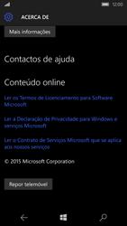 Microsoft Lumia 550 - Repor definições - Repor definições de fábrica do telemóvel -  7