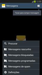 Samsung Galaxy S3 - SMS - Como configurar o centro de mensagens -  5