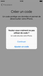 Apple iPhone 6s - Premiers pas - Créer un compte - Étape 16