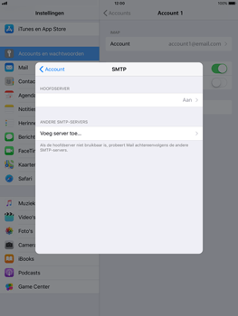 Apple ipad-air-met-ios-11-model-a1475 - E-mail - Instellingen KPNMail controleren - Stap 12