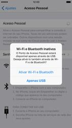 Apple iPhone iOS 10 - Wi-Fi - Como usar seu aparelho como um roteador de rede wi-fi - Etapa 7