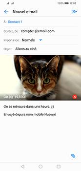 Huawei Y7 (2019) - E-mail - envoyer un e-mail - Étape 14
