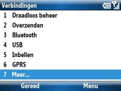 Samsung C6620 - Bellen - in het buitenland - Stap 7