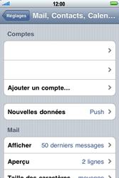 Apple iPhone 3G S - E-mail - Configuration manuelle - Étape 4