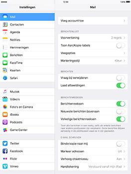 Apple iPad Pro 9.7 - iOS 10 - E-mail - e-mail instellen: IMAP (aanbevolen) - Stap 4