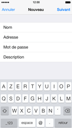 Apple iPhone 5 iOS 7 - E-mail - Configuration manuelle - Étape 9