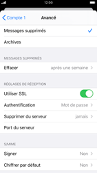Apple iPhone 8 - iOS 13 - E-mail - Configuration manuelle - Étape 22