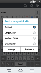 LG G2 mini LTE - Email - Sending an email message - Step 17