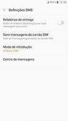 Samsung Galaxy A3 (2017) - SMS - Como configurar o centro de mensagens -  10