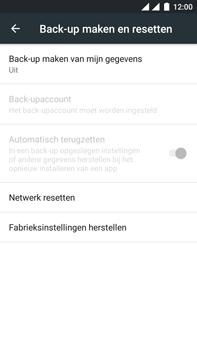 OnePlus 3 - Toestel - Fabrieksinstellingen terugzetten - Stap 6