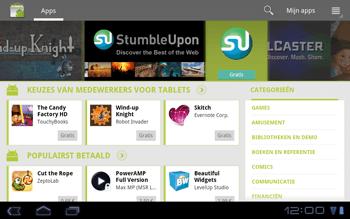 Huawei Mediapad S7-301u - Applicaties - Applicaties downloaden - Stap 15