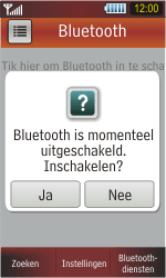 Samsung S5230 Star - Bluetooth - koppelen met ander apparaat - Stap 8
