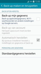 Samsung A300FU Galaxy A3 - Instellingen aanpassen - Fabrieksinstellingen terugzetten - Stap 5