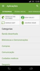 Sony Xperia M2 - Aplicações - Como pesquisar e instalar aplicações -  6