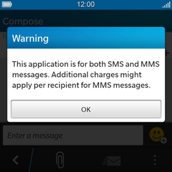 BlackBerry Q5 - Mms - Sending a picture message - Step 3