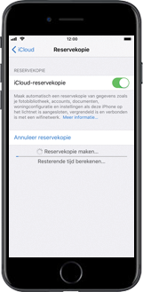 Apple iPhone 7 iOS 11 - Instellingen aanpassen - Back-up maken in je account - Stap 11