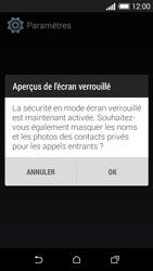 HTC Desire 510 - Sécuriser votre mobile - Activer le code de verrouillage - Étape 11