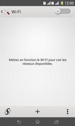 Sony Xpéria E1 Dual - Internet et connexion - Accéder au réseau Wi-Fi - Étape 5
