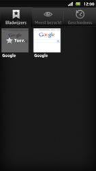 Sony MT27i Xperia Sola - Internet - hoe te internetten - Stap 7