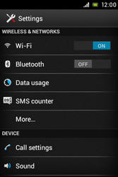 Sony C1505 Xperia E - Network - Usage across the border - Step 4