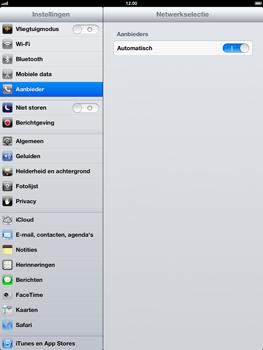 Apple iPad 4th generation - Netwerk - gebruik in het buitenland - Stap 6