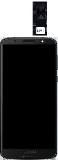 Motorola Moto G6 Plus - Primeiros passos - Como inserir o chip da Nextel no seu celular - Etapa 4